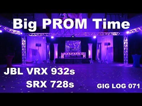 DJ GIG LOG 071 | Marietta HS Prom | Trussing | JBL SRX 728s | JBL VRX 932Lap