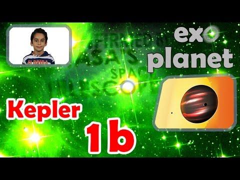 8 year old Atbin explains: Kepler-1b; the darkest known exoplanet