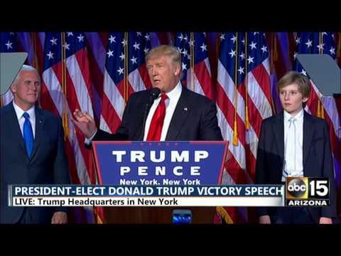 FULL: President-Elect Donald Trump Victory Speech - Election night 2016