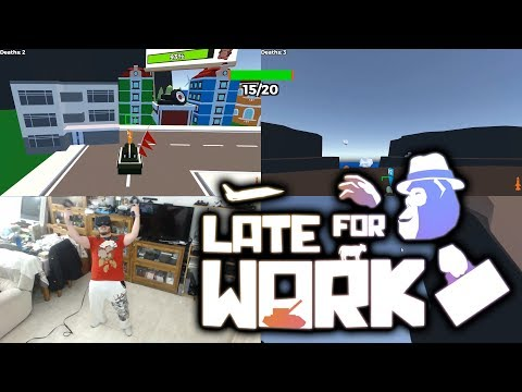 ME CONVIERTO EN KING KONG   Late for Work VR Multijugador