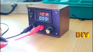 DIY : Mini Variable voltage power supply