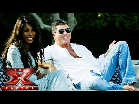 Sinitta joins Sim Preview  The X Factor UK 2014