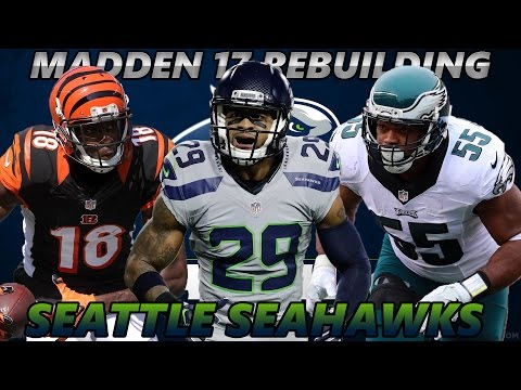 Madden 17 Connected Franchise | Rebuilding The Seattle Seahawks [Reload] YEAR ONE DOMINATION!