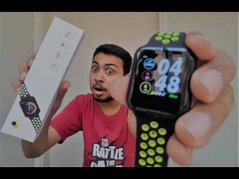 F8 Sports Smartwatch Unboxing / Review.....Is This The Best Apple Watch Replica????