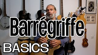 Gitarre lernen für Anfänger / Barrégriffe ...verstehen & üben