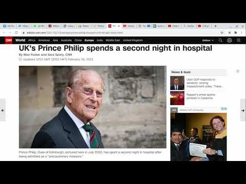 Prince Philip spends second night in London hospital - CNN