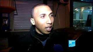أجواء مقابلة المنتخب المغربي بنظيره التونسي