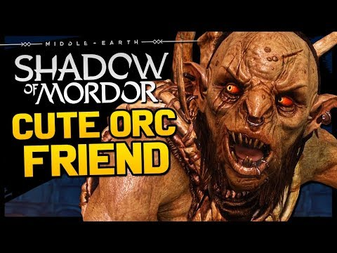 This is Shadow Of Mordor with heartwarming friendship