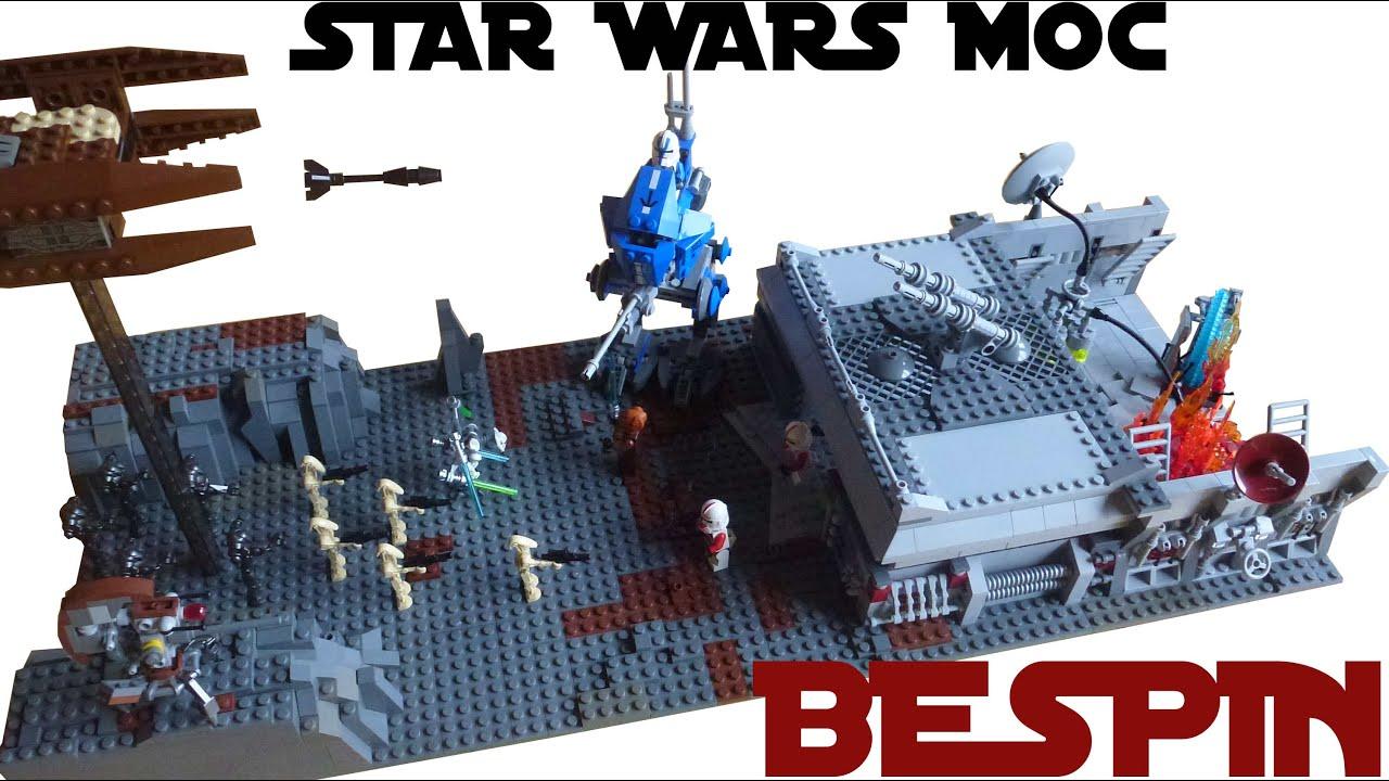 lego star wars bespin moc youtube. Black Bedroom Furniture Sets. Home Design Ideas