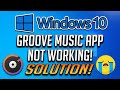 Gambar cover How to Fix Groove App Not Working in Windows 10 2020