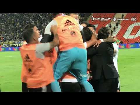 Reviví el gol de Martínez que abrió el triunfo de River