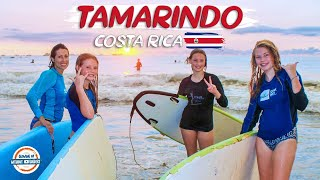 Tamarindo Costa Rica Travel Guide - Surfing, Sunsets & So Much More  | 90+ Countries With 3 Kids