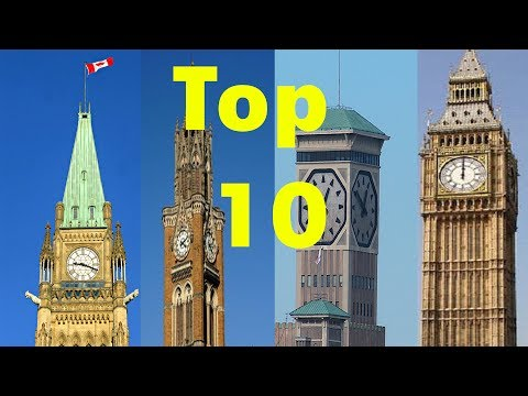 Top 10 Magnificent Clock Towers around the World !!