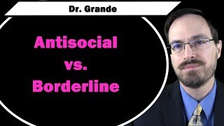 Antisocial Personality Disorder vs. Borderline Personality Disorder YouTube Videos