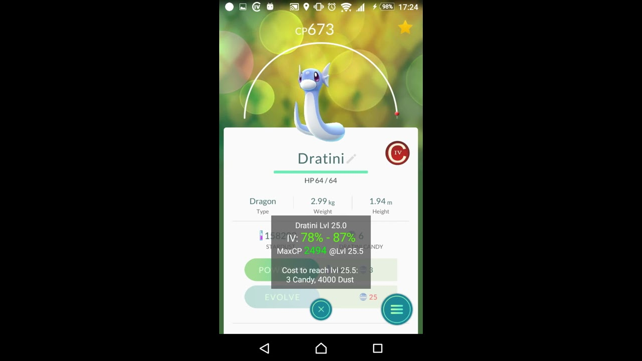 Calcy IV: Easy and Fast Move-DPS and IV-Calculator for Pokémon GO
