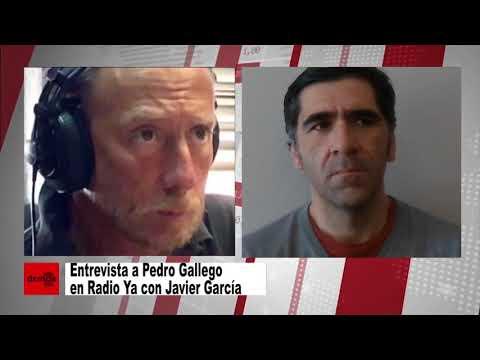 Entrevista a Pedro Gallego en Radio Ya