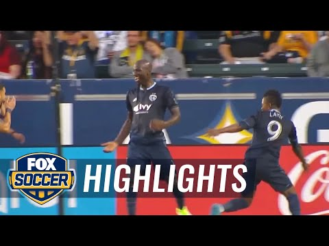 LA Galaxy vs. Sporting Kansas City | 2017 MLS Highlights