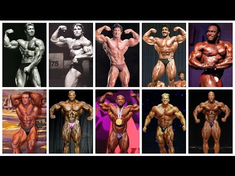ALL-TIME MR. OLYMPIA WINNERS 1965-2016