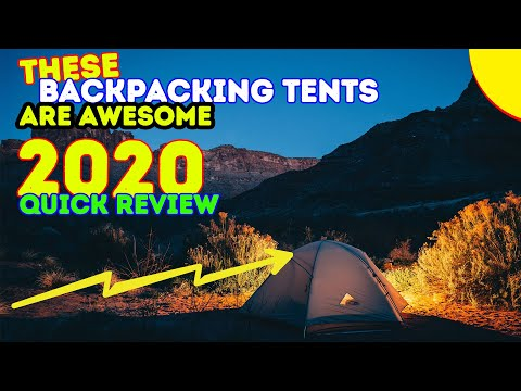 REVIEWS: 10 Best Backpacking Tents 2017 !