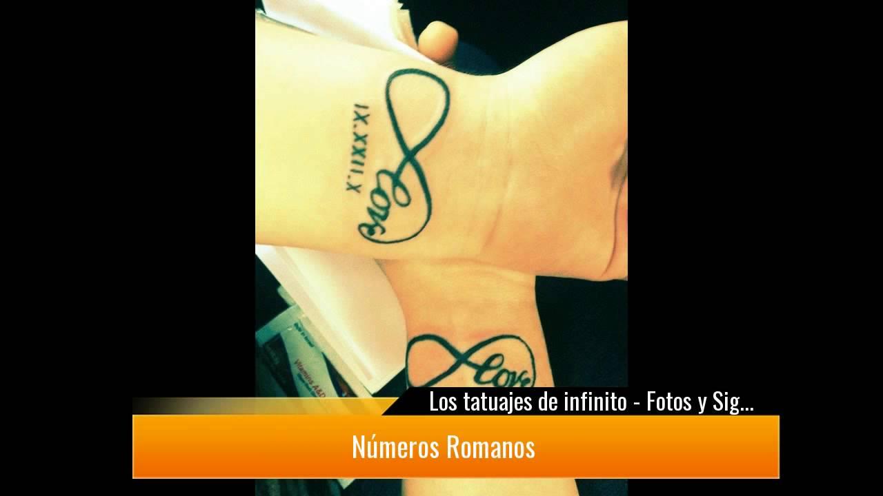 Los Tatuajes De Infinito Fotos Y Significado Youtube