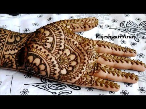 Easy Bridal Henna Mehndi Designs For Hands Mehndi Designs For