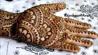 Easy Bridal Mehndi Patterns : Simple easy bridal henna mehndi designs for hands