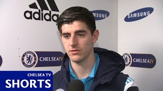 Chelsea: Courtois: A pity, but we have to continue