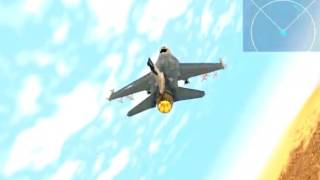 How to play F-16 Multirole Fighter Plane Game Training Mission