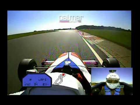 Formula Palmer Jaguar Onboard - Bedford Autodrome