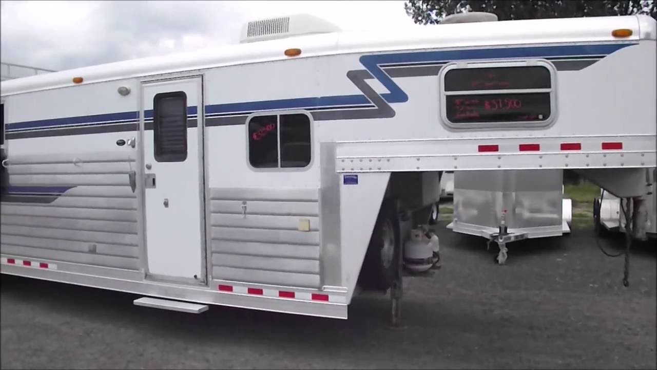 maxresdefault 2001 4 star outlaw interior gen ready 10' sw 8' w 4 horse living 4 star horse trailer wiring diagram at n-0.co
