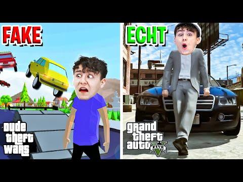 GTA 5 FAKE? Dieses Spiel ist VERRÜCKT! - Dude Theft Wars