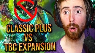 "Asmongold Reacts To ""WoW Classic Plus Versus The Burning Crusade"" By MadSeasonShow"