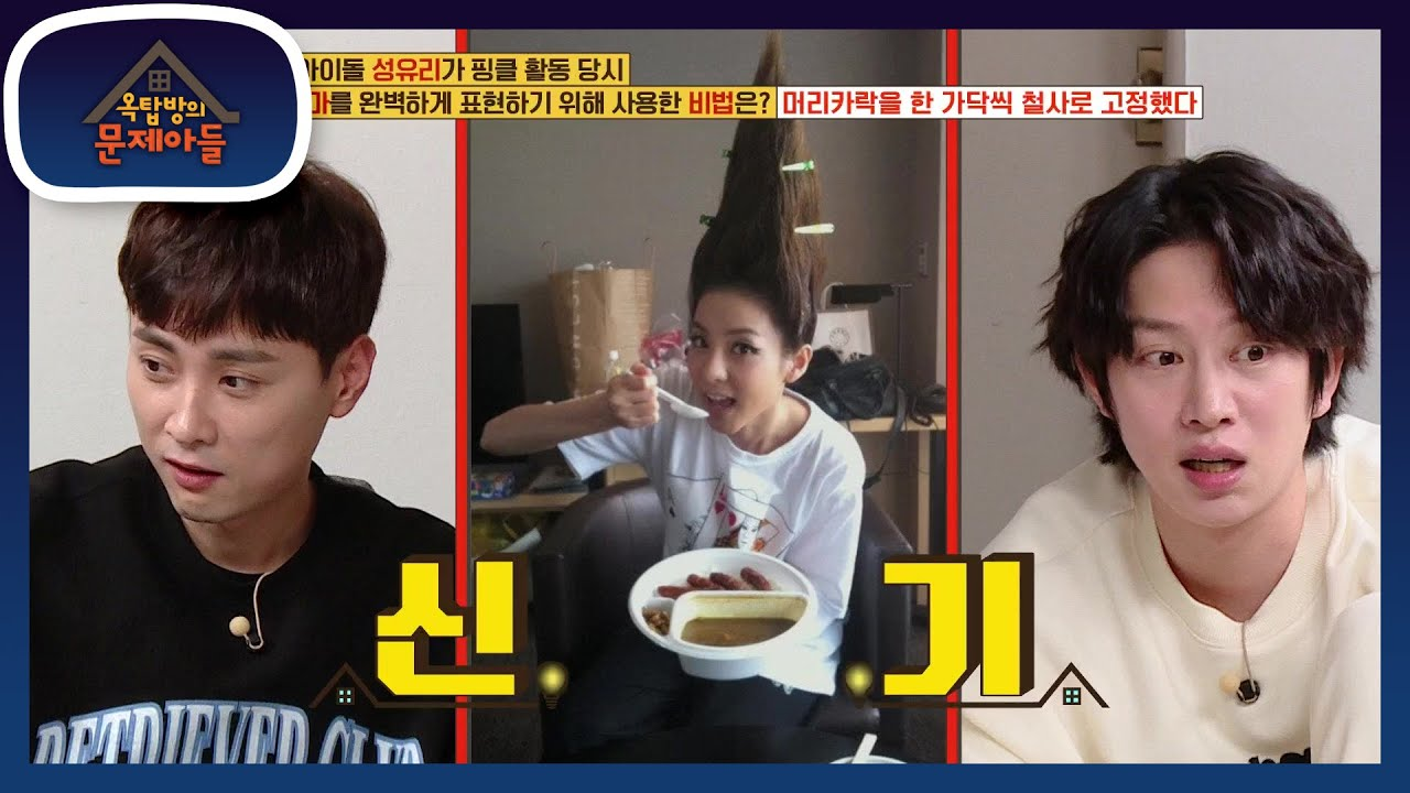 Download 특이한 머리의 진수♨ 각종 신기한 머리들의 비하인드 스토리!  [옥탑방의 문제아들/Problem Child in House] | KBS 201229 방송