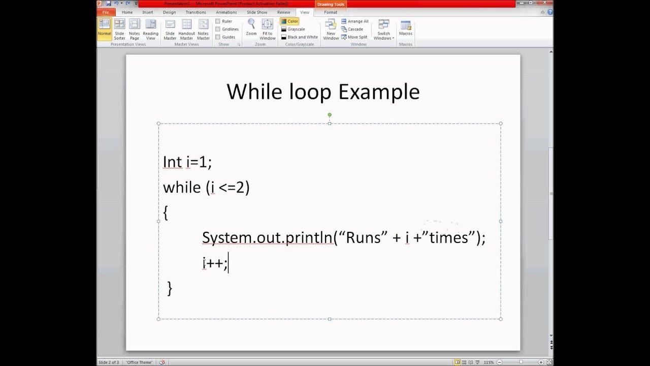 Exercise 1 Week 3 - Java Tutorial Multiple Strings While Loop - YouTube