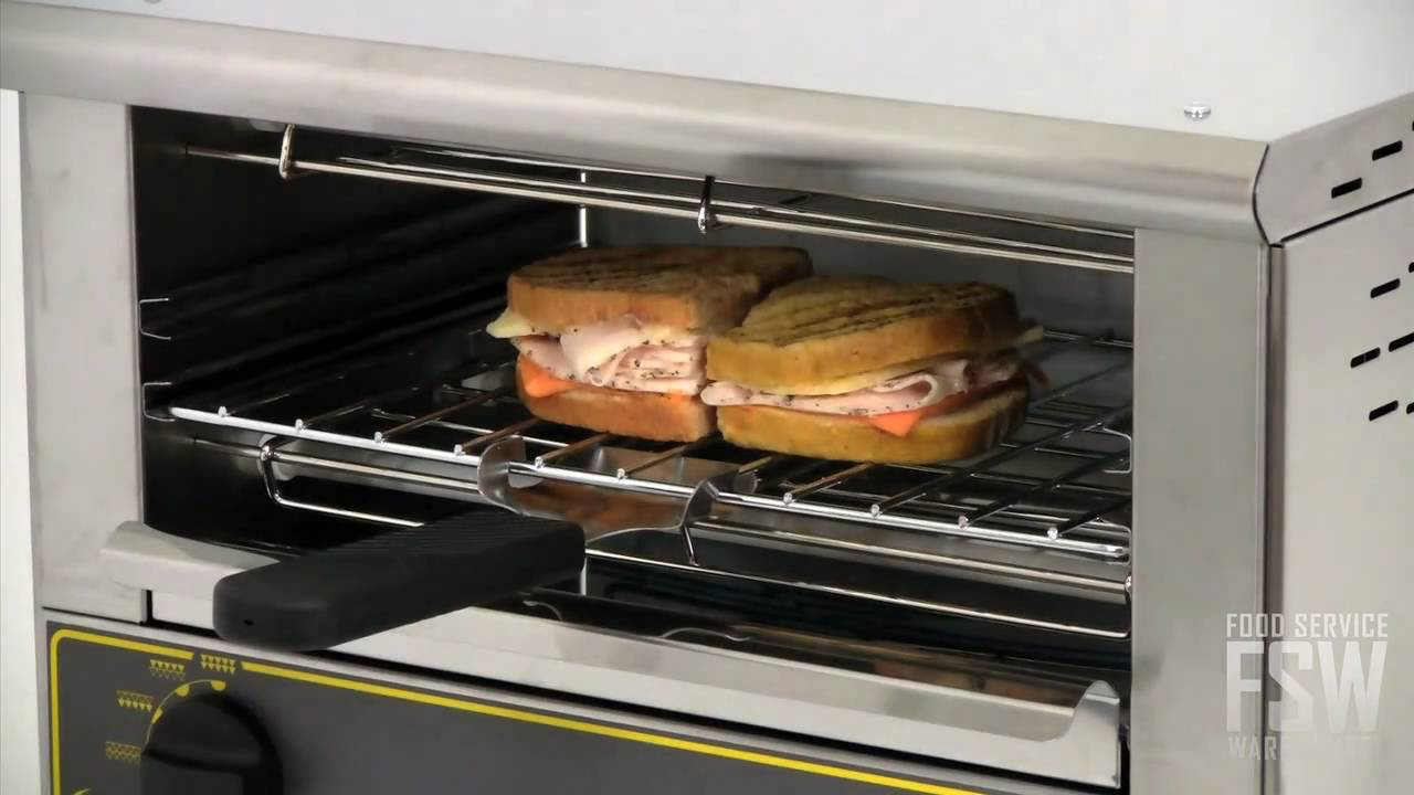 Equipex mercial Toaster Oven Video BAR 101 1