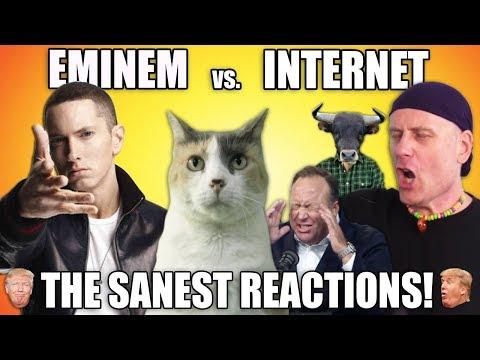 EMINEM vs Internet: The Sanest Reactions