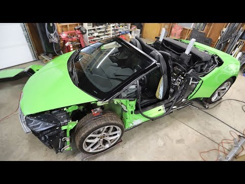 Damage Inspection on the Auction Lamborghini Huracan Lead to One Big Question…