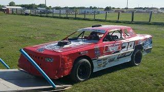 🔴Jeff Crouse Racing Live🔴   Sheyenne Speedway.  Street Stock.  7/15/18