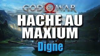 GOD OF WAR - AMELIORER LA HACHE LEVIATHAN AU MAXIMUM ( Digne )
