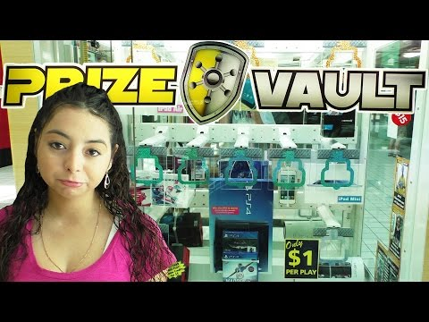 Can we open the Prize Vault? - Arcade Prize Game
