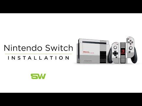 Slickwraps Nintendo Switch Installation Video