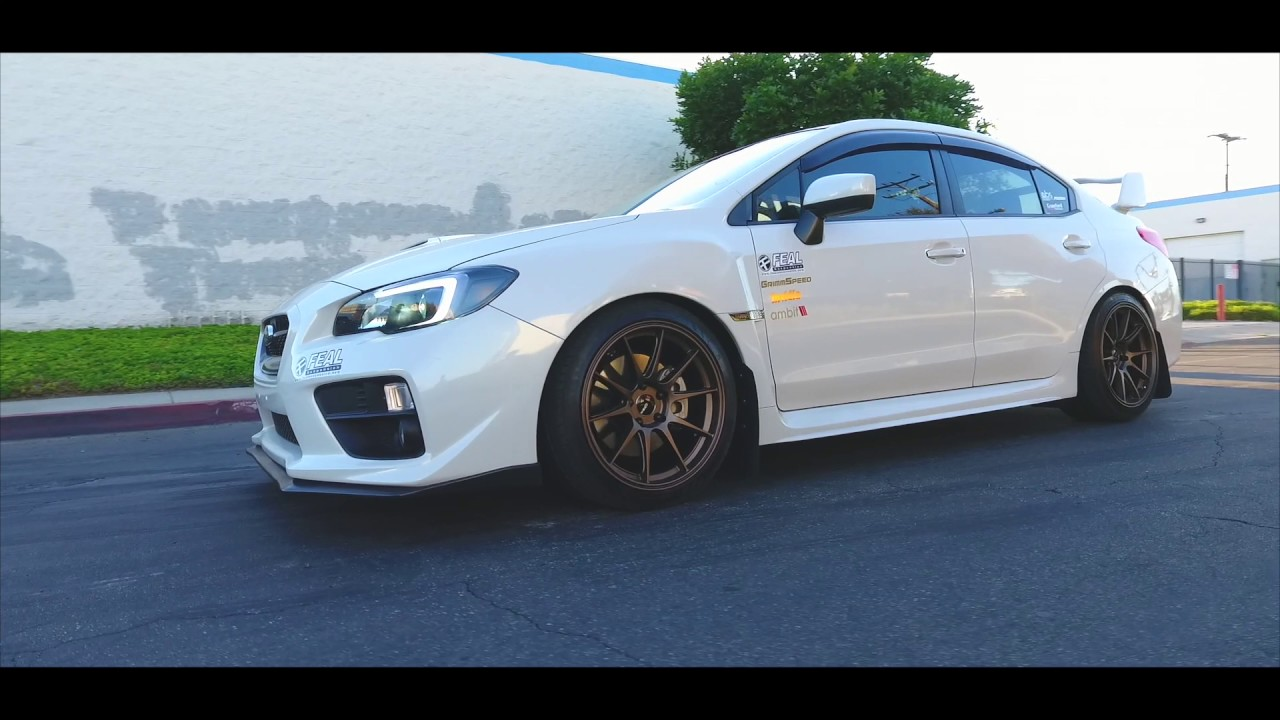 NEW WHEELS! 2017 Subaru WRX - RS18 18x9.5 +38 - Presented ...
