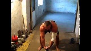 Романчук и гиря 83 кг