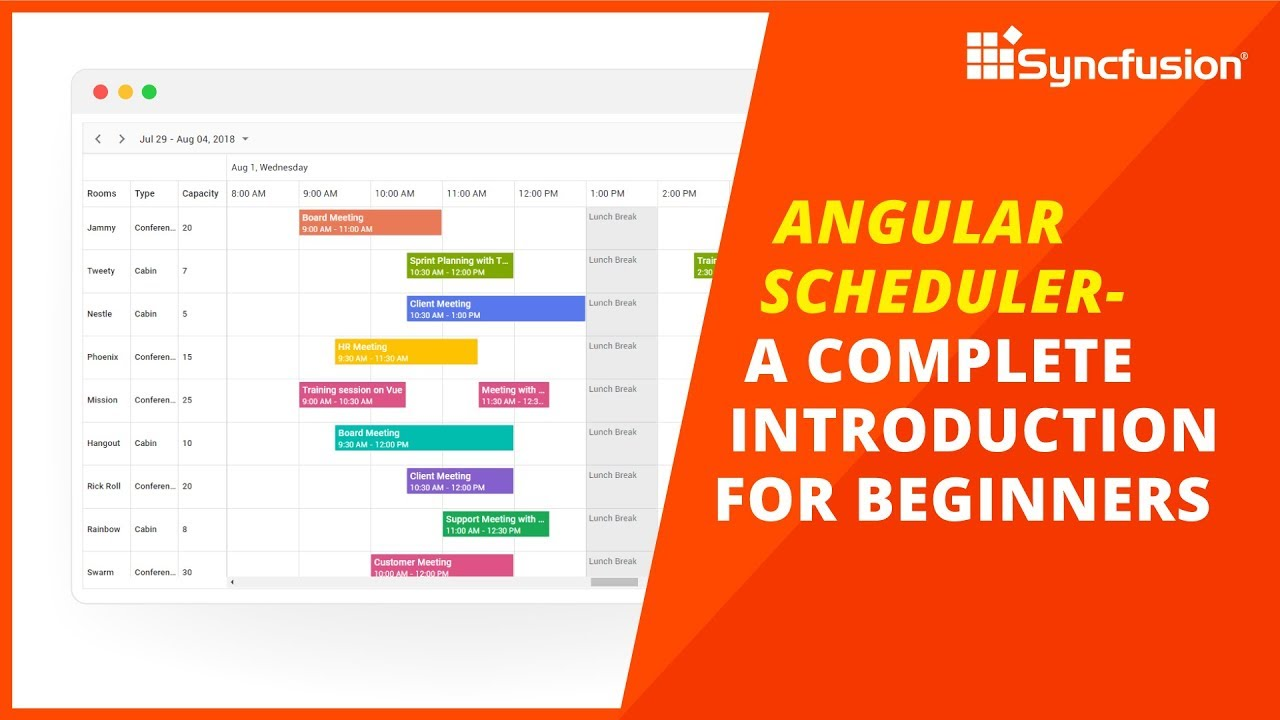 Angular Scheduler - A Complete Introduction for Beginners