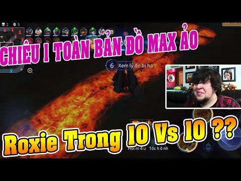 UTS Channels   Bất Ngờ Phát Hiện Chiêu 1 Của Roxie Đốt Cháy Toàn Bản Đồ Trong Chế Độ 10Vs10   MAX ẢO