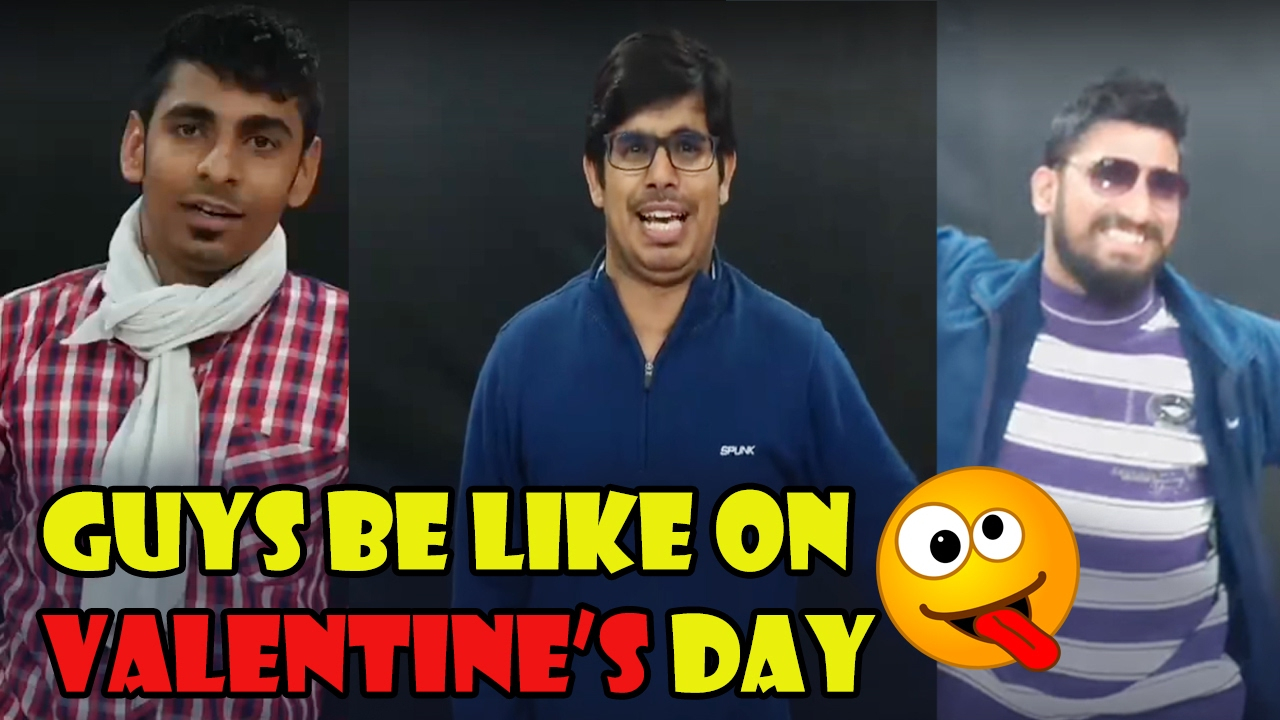 Guys Be Like On Valentine's Day