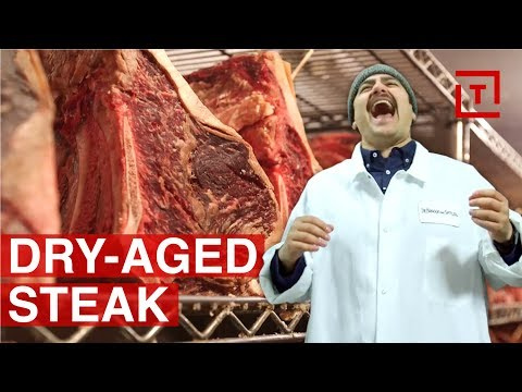 How NYC Steakhouses Do Dry-Aged Meat || Food/Groups