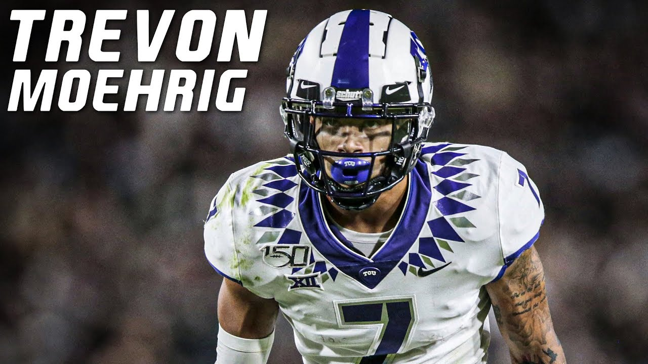 Highest Graded Safety in College Football | Trevon Moehrig TCU Highlights ᴴᴰ