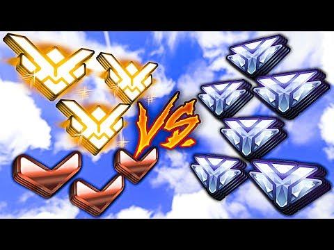 Can 3 Grandmasters CARRY 3 Bronze vs 6 Diamonds? - Overwatch thumbnail