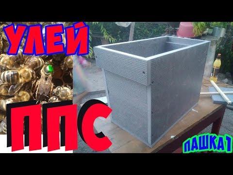 Улей с ПЕНОПОЛИСТИРОЛА своими руками за 30 минут для Островной пчелиной матки